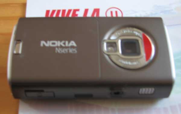 Nokia N95 Alex Celi - Cámara Principal