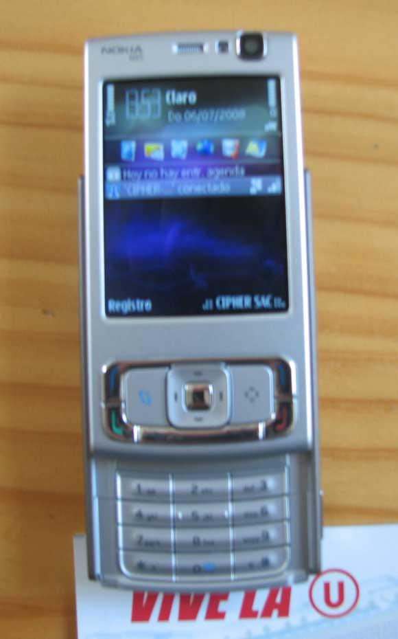 Nokia N95 Alex Celi - Wifi