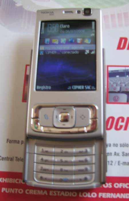 Nokia N95 Alex Celi - Presentación