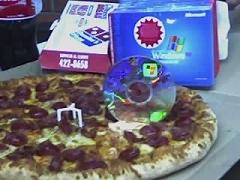 WinXP para cortar Pizza
